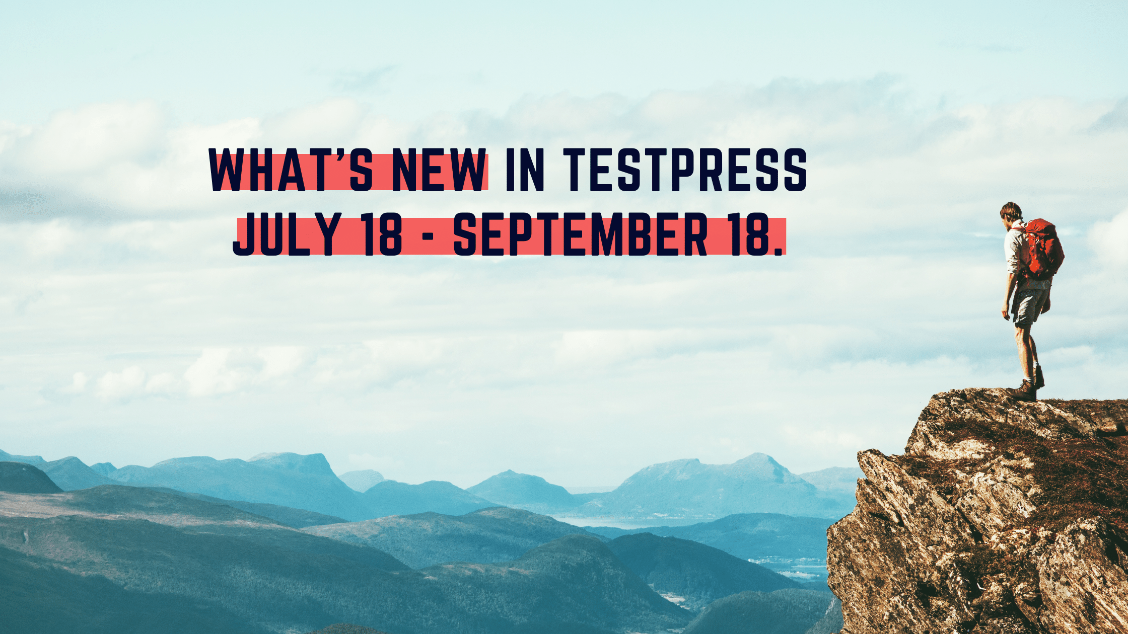 What's new in Testpress Online Exam Software : July 18 - September 18